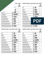 Conhecendo os números de 1 a 9 utilizando o material dourado.doc