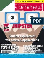 Programmez N°225 – Janvier 2019.pdf