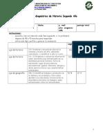 Prueba de Diagnóstico historia 2°  Año (1)