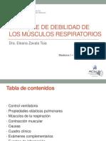 Semana 5 Sesión 2  SIND DEBILIDAD DE MUSCULOS RESPIRATORIOS. Dra. Zavala.pptx
