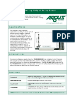 Ttn d8 Mux 4x2 Data Sheet
