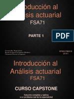 Introduccion al analisis actuarial