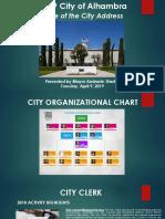 State of City Presentation