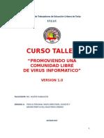Curso Taller - Virus Informatico
