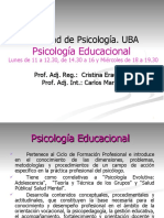 teorico_1 Psicologia Educacional