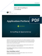 Optimizing Android App With ArrayMap&SparseArray