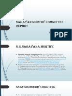 Research Project narayan murty
