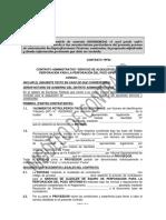 3.- Modelo de Contrato