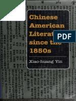 Chinese American literature sin - Xiao-huang Yin.docx