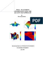 Well Placement Optimization Using the Quality Map Approach -Badru, O