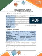 Guía de Actividades y Rubrica de Evaluacion - Fase 2 - Identificar Los Principales Aspectos Del Mercadeo Internacional y de La Distribucion Fisica Internacional