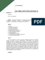 Analisis Del Rango de Los Tratados en El Derecho Interno - Derecho Internacional Publico