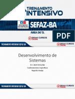 Intensivão SEFAZ/BA TI