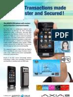 Axia A206 Mobile SmartCard Reader