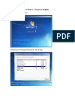 Proceso Instalacion Windows7Pro 32bits
