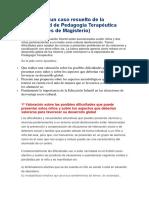 Ejemplo de un caso resuelto de la especialidad de Pedagogía Terapéutica.docx