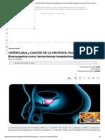 HIPERPLASIA y CANCER de LA PROSTATA_ Fitoterapia y Bioenergetica Como Herramientas Terapéuticas Para Estos Casos _ Qisoma