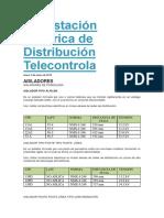 Subestación Electrica de Distribución Telecontrola