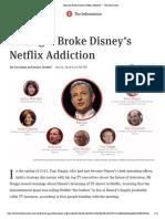 How Iger Broke Disney's Netflix Addiction — the Information