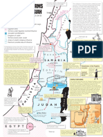 Map of Israel and Judah During the Reign of Josiah Printable.pdf