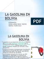 La Gasolina en Bolivia Defensa de Politica