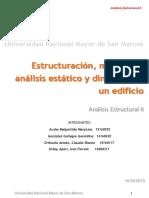 Estructuracion Analisis Edificio