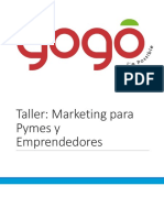 Taller Marketing Para Pymes y Personal