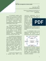 Reflexión Sobre Investigación en Ciencias Sociales