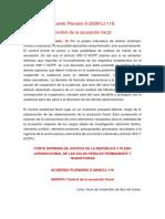Acuerdo Plenario 006-2009
