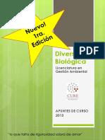 DIVERSIDAD BIOLOGICA - CURE - Licenciatura en Gestión Ambiental – Ciclo de Profundización.pdf