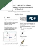 Informe Previo 1 Circuitos Electronicos 1