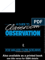A Guide to Classroom Observartion - Rob Walker & Clem Adelman.pdf