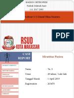 Jomet Ortho RS Kota Makassar 6 April 2019