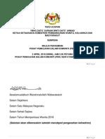 Teks Ucapan Ybhg Dato' Ksu Di Pdk Ayer Keroh Melaka