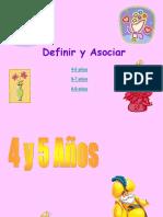 Definir y Asociar