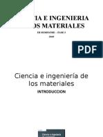 Introduccion a Ciencia e Ingenieria de Materiales
