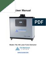 Fs l 100 Fu Me Extractor Manual