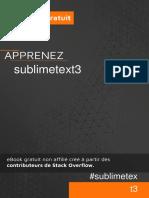 Sublimetext3 Fr