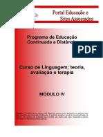 Linguagem Modulo IV ead