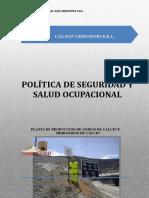 1 Política del Sistema de Gestión de SSO.doc