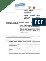 CASO N°  0824- 2018 CUMPLO MANDATO-  ORTIZ BECERRA MARIA FLOR - DELITO ESTAFA EN CONTRA DE ULISES ESCOBEDO..docx