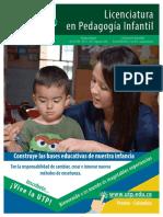 Licenciatura en Pedagogi a Infantil