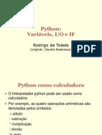Python 01 Variaveis IO If