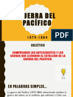 Guerra Del Pacífico (Prof.(a) Lorena Aguilera Soto