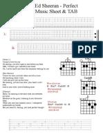 Ed Sheeran - Perfect  Music Sheet & TAB.pdf