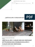 001 ¿Qué Es El EPS y Cuáles Son Sus Ventajas_ - A Mia Casa