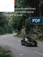 eBook How to Automate Workflows to Create Social and Digital Content at Scale