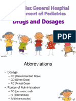Pedia Drugs and Dosages Slides