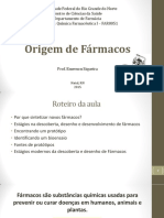 Aula I - Origem de Fármacos.pdf