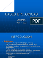 Bases Etologicas